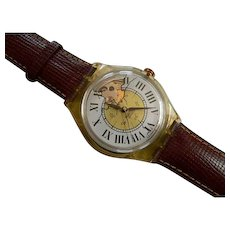 """1995 SWATCH Collection   The Originals   RARE AUTOMATIC Watch   """"Missing"""""""
