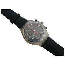 "Man's SWATCH Collection | 1997 RARE Chronograph Watch | ""Speedcounters"""