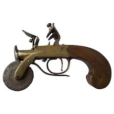 Late 18th Century or early 19th Century | British Box-lock Flintlock Powder Tester | ANTIQUE