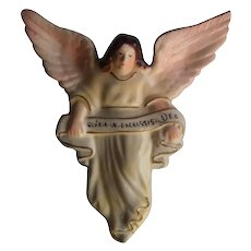"1950's Vintage ""Gloria In Excelsis Deo"" Angel 