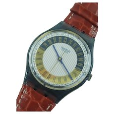 """Man's or Woman's SWATCH Collection   1998 RARE 24h Movement """"Campana"""" Watch   Free Shipping"""