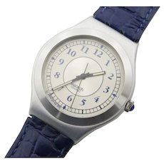 """Man's or Woman's SWATCH Collection   1996 Irony Big   RARE """"Crew Cut"""" Watch   Free Shipping"""