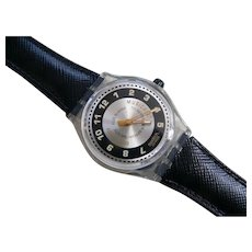 """Man's or Woman's SWATCH Collection   1996 RARE Musicall """"Musica E"""" alarm Watch"""