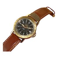 Vintage 1984-90's | CAMEL TROPHY Adventure Quartz Watch | All Stainless Steel | AS NEW