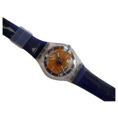 """Man's or Woman's SWATCH Collection   1997 RARE """"Fifth Element"""" Watch   Free Shipping"""