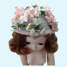 Madame Alexander Cissy Doll Hat 1955