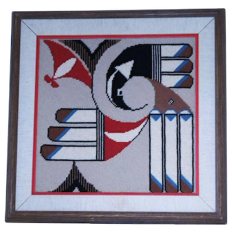 Native Style Design Weave Art