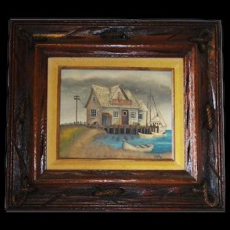 Original Duff Oil Painting