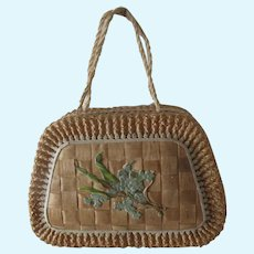 Candy Box : antique purse for fashion doll or bebe