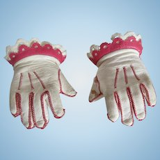 JUMEAU : original pair of gloves for a bebe size 8