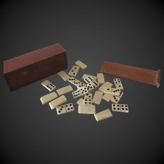 "Dominoes game for dolls 3/4""x2 1/4"""