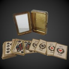 miniature Card game for dolls