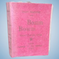 1898 : miniature doll book BOUM BOUM