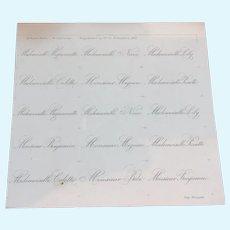 1901 La Poupée Modèle : supplement