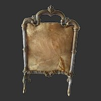 gilt pewter Screen for doll house
