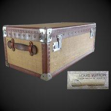 rare Louis VUITTON doll trunk circa 1935