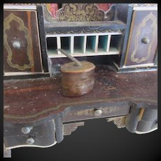 miniature tobacco box for Dollhouse or fashion doll display