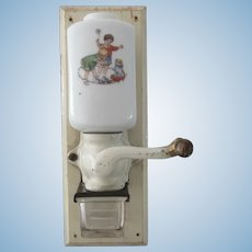 wall coffee Grinder for dollhouse large scale