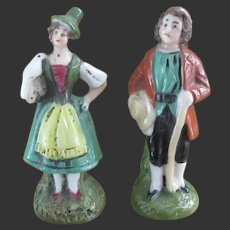 couple of porcelain characters for a Dollhouse