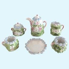 porcelain tea Service for dolls