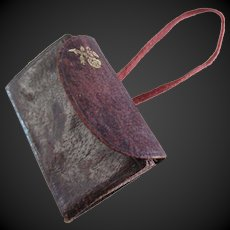 leather purse for Fashion doll