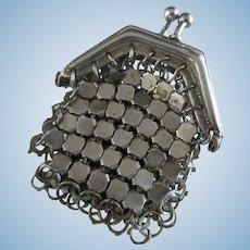 silver purse for Fashion doll