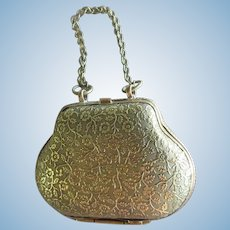 """metal Purse, height 1 3/4"""" and 3 1/4"""" with the handle"""