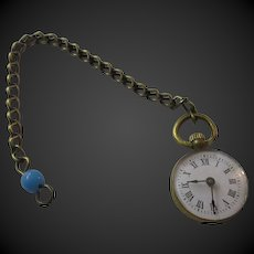 doll Faux-watch circa 1880 time is changeable