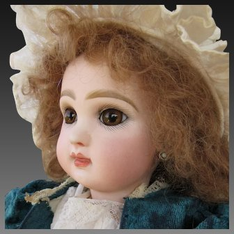 Bebe Jumeau size 6 closed mouth 15 in
