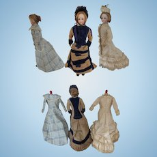 "Au Paradis des Enfants, french fashion doll 12 1/2"", extra clothes"
