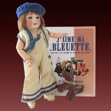 Bleuette doll period 1930's original GL clothes