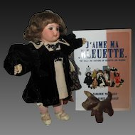 Bleuette doll 1910-1918 era GL shoes