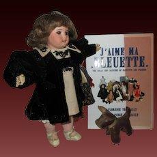 Bleuette doll 1910-1918 era GL shoes