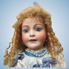 """21 2/3"""" french doll circa 1915 FAVORITE by Lanternier - J E Masson"""