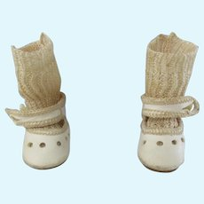 Bleuette shoes and socks circa 1930 original G.L