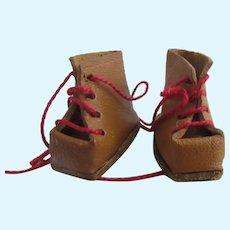 original GL ski shoes for Bleuette doll