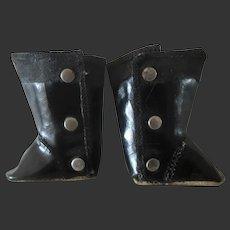 original GL boots for bleuette doll 1940's