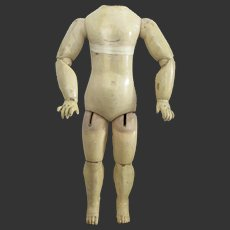 "24 1/3"" big bebe BRU body 1890's"