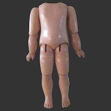 "JUMEAU body 8 1/4"" for a bebe size 2"