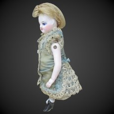 early French all bisque doll all original 5 ""