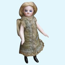 """5 1/8"""" French all bisque doll all original"""