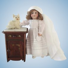 """XX° french doll bedside Bleuette size Ht 6 2/3"""""""