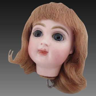 Jumeau head size 1 for automaton, red stamp