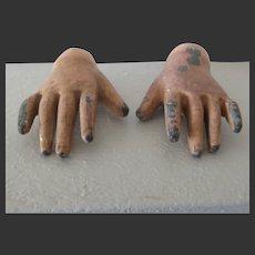 original pair of Petit & Dumoutier hands
