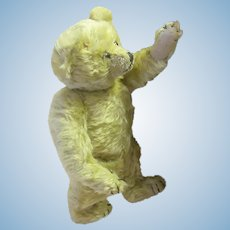 "1930's mohair english Bear 14"" Chiltern"
