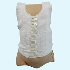 antique French corset for a bebe size 12