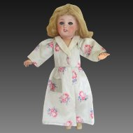 for Bleuette doll : original G.L. house coat 'bien-être' , 1952