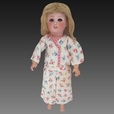 for Bleuette doll : original G.L. pajama 'BONSOIR' , 1948