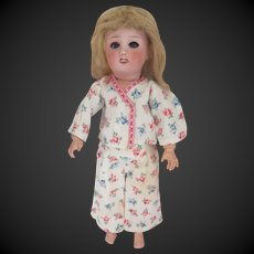 for Bleuette doll : original G.L. pajama 'BONSOIR' , 1948