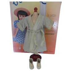 original G.L. set 'convalescence' for Bleuette doll, 1935